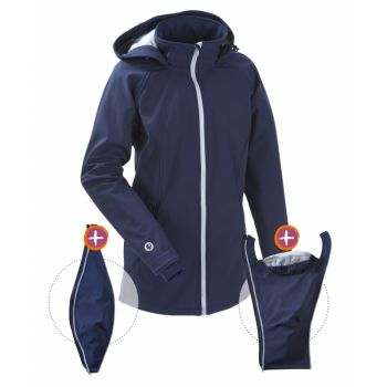 mamalila - Softshell-Tragejacke - navy-ice - click it